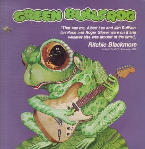GREEN BULLFROG - Natural Magic - 33T