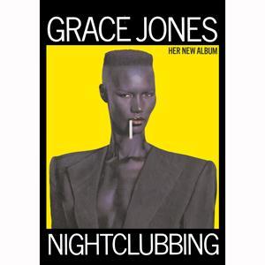 GRACE JONES - Nightclubbing - Poster / Display