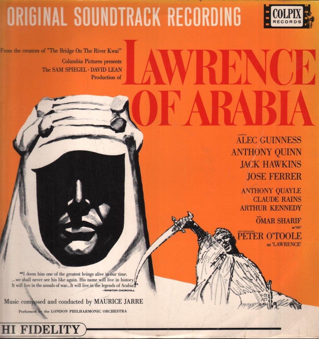 LAWRENCE OF ARABIA - Original Soundtrack Recording - 33T