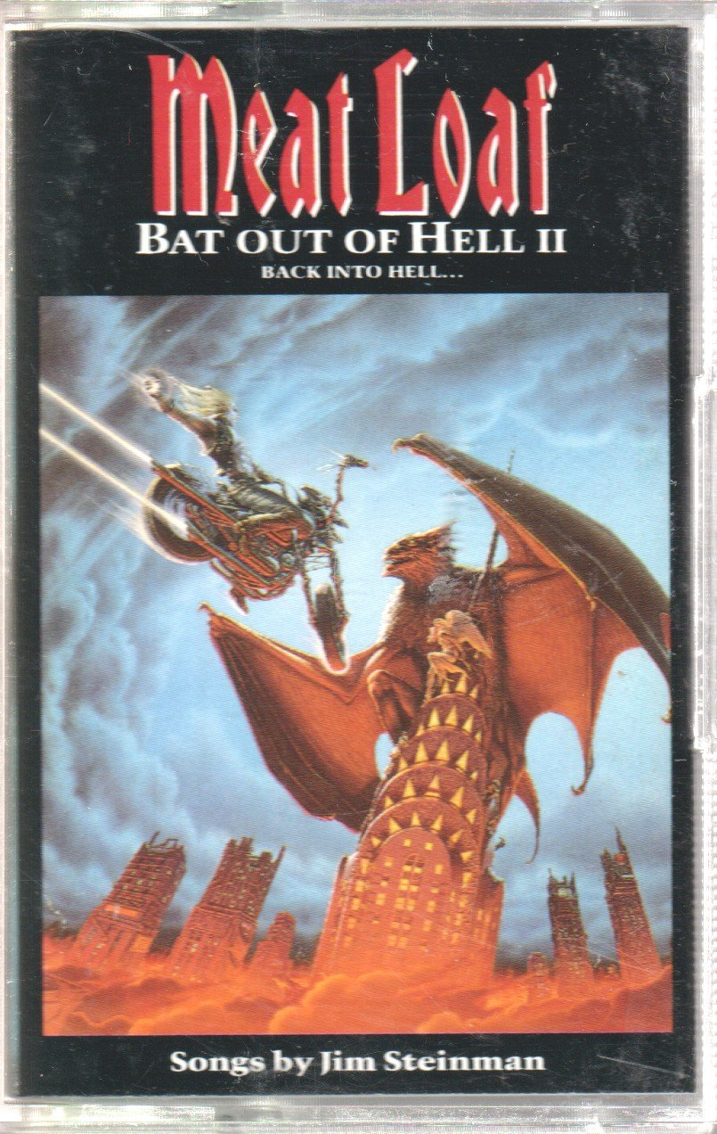 MEAT LOAF - Bat Out of Hell 2 - Cassette