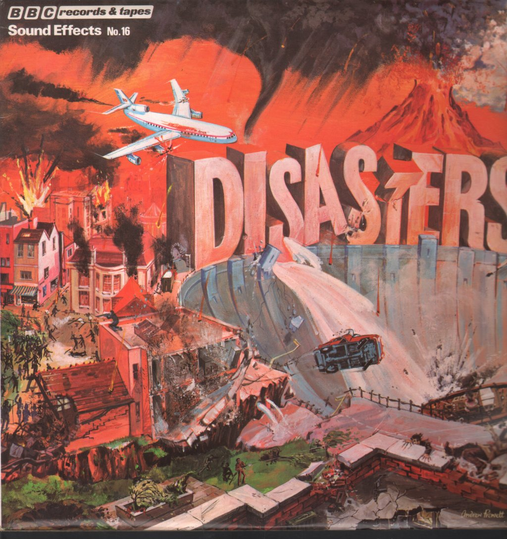 SOUND EFFECTS NO 16 - Disasters - 33T