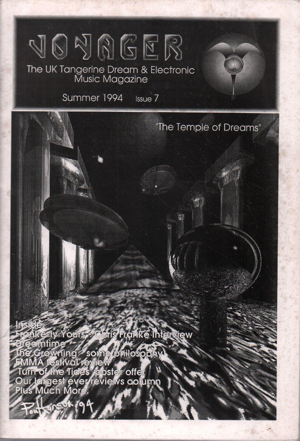 TANGERINE DREAM - Voyager Issue 7 - Magazine