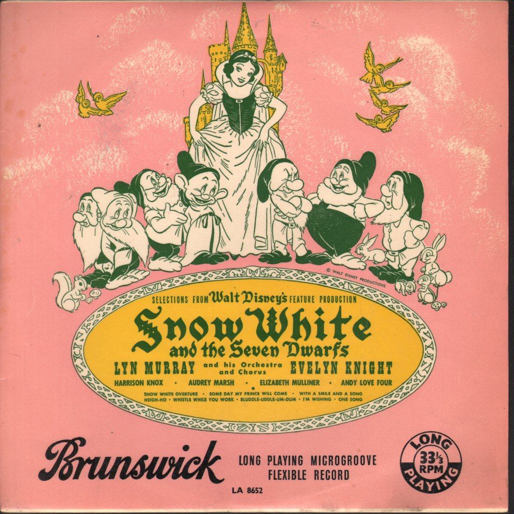 LYN MURRAY ORCHESTRA - Snow White and the Seven Dwarfs - 25 cm