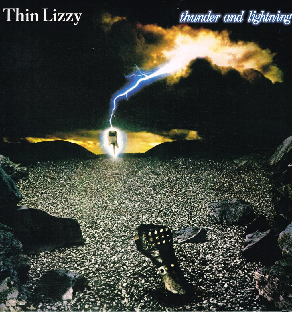 THIN LIZZY - Thunder and Lightning - 33T