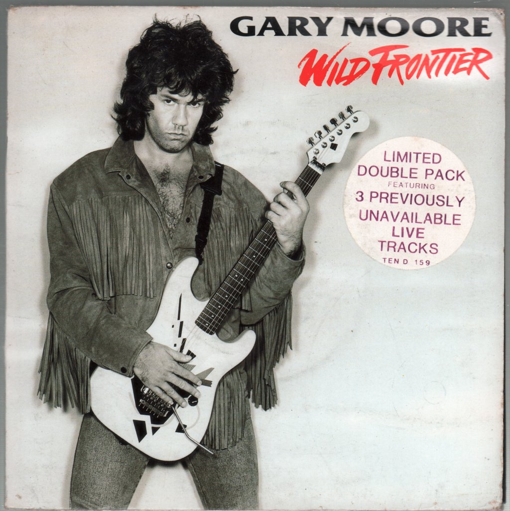 GARY MOORE - Wild Frontier - 45T x 2