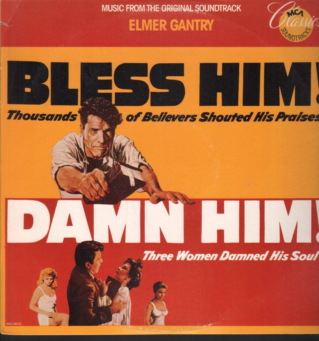 ANDRE PREVIN - Elmer Gantry Music From Original Soundtrack - 33T