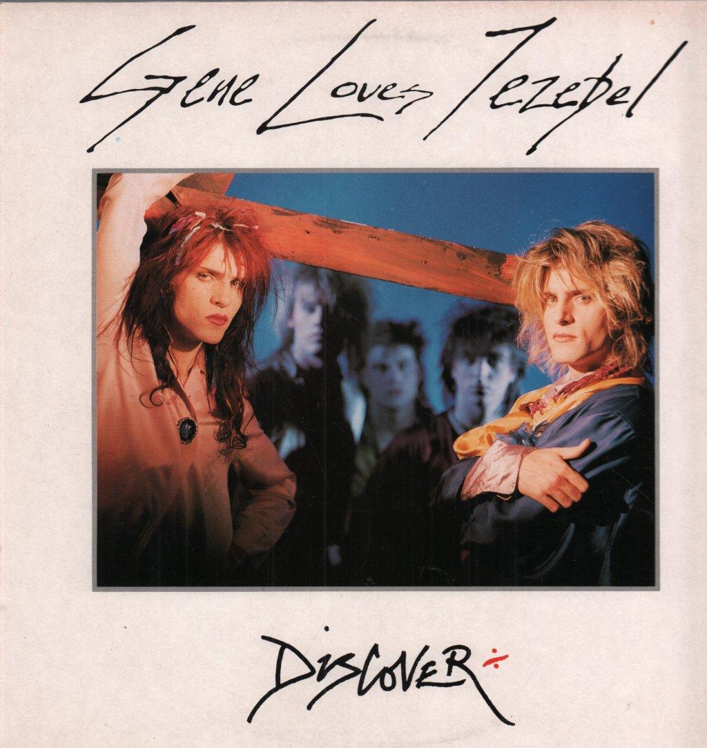 GENE LOVES JEZEBEL - Discover - 33T