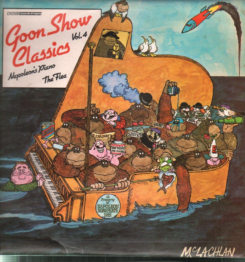 Goon Show Classics Vol 4 Napoleons Piano and the Flea