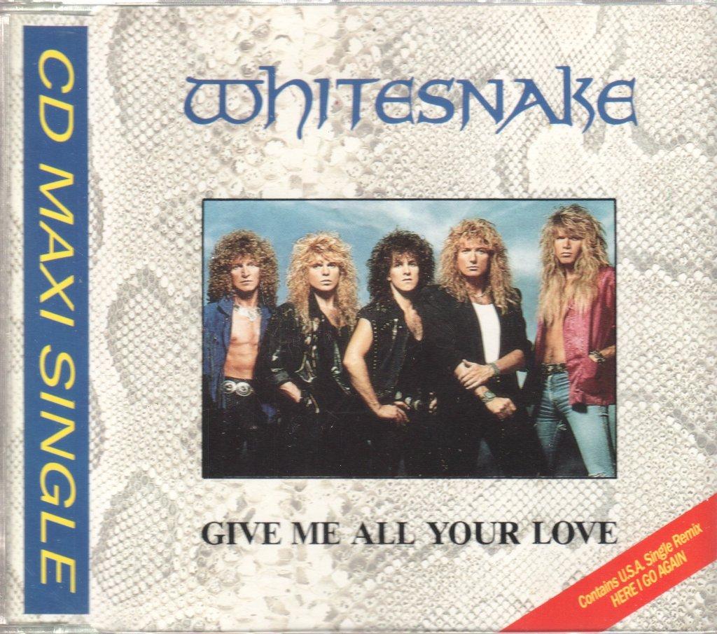 WHITESNAKE - Give Me All Your Love - CD