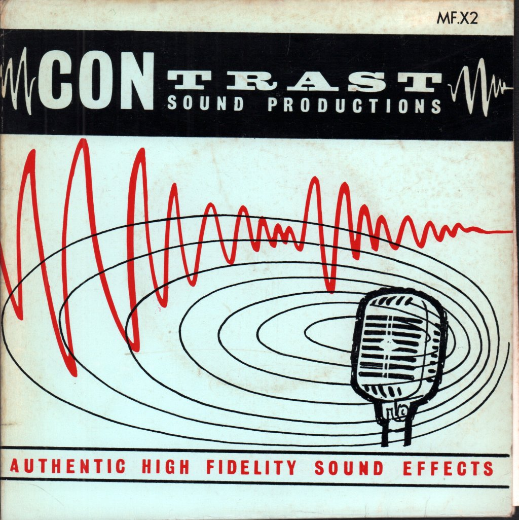 FREDERICK JUDD - Authentic High Fidelity Sound Effects - 45T (SP 2 titres)