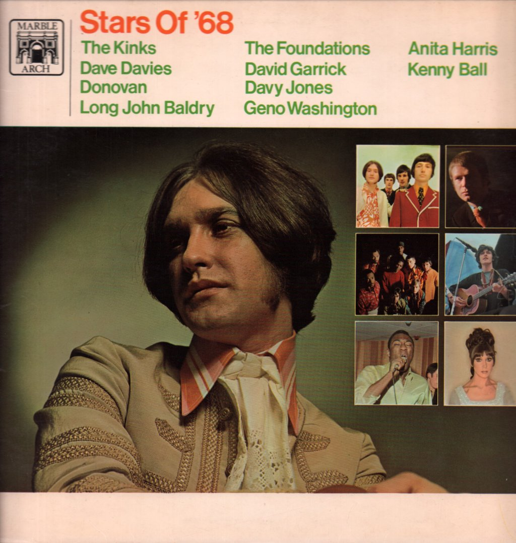 STARS OF '68 - Various - 33T