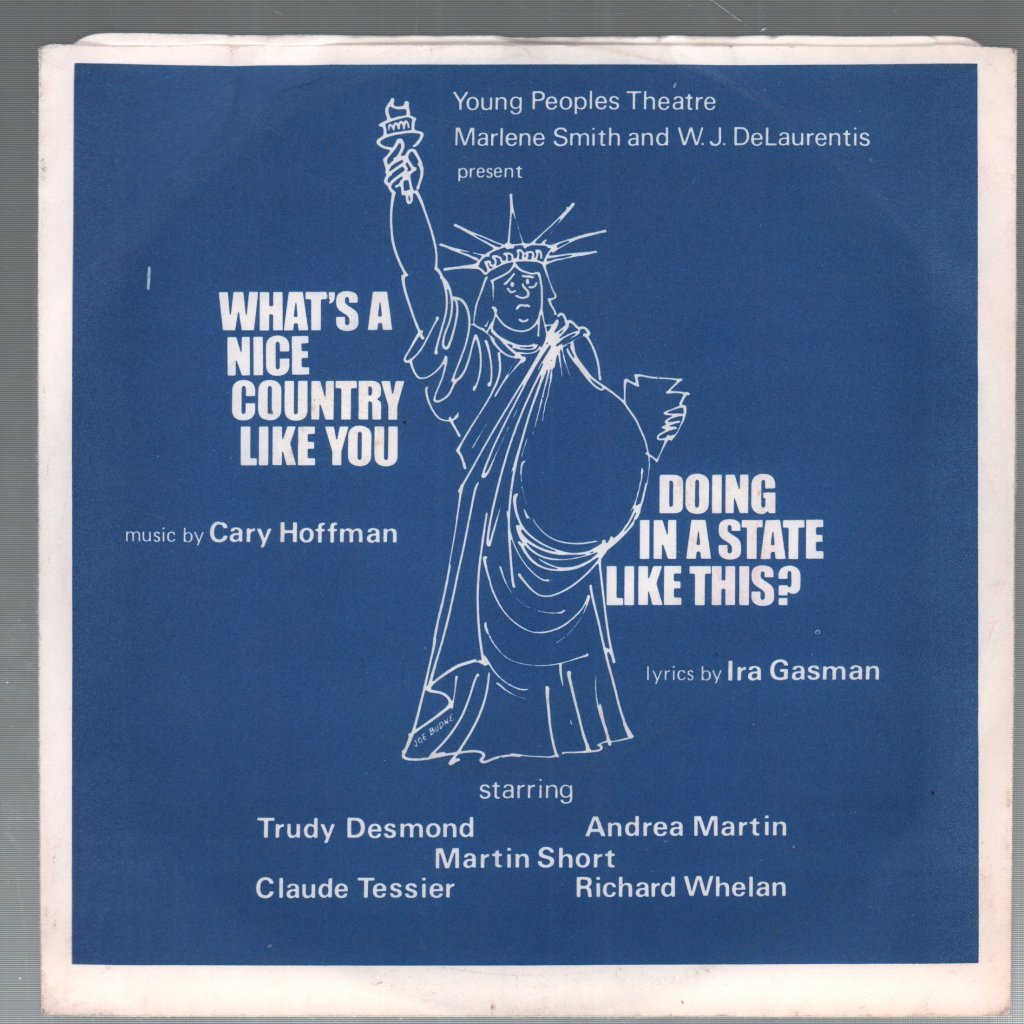 YOUNG PEOPLES THEATRE - What's A Nice Country Like You Doing In A State Like This - 45T (SP 2 titres)