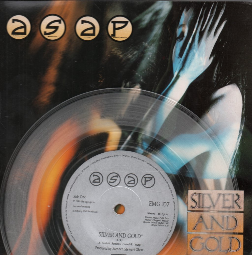 ASAP (ROCK GROUP) - Silver and Gold - 45T (SP 2 titres)