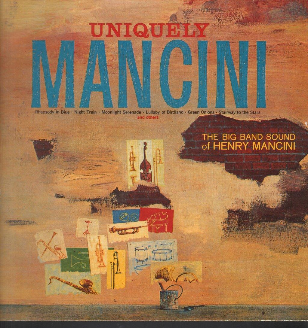 HENRY MANCINI - Uniquely Mancini - 33T