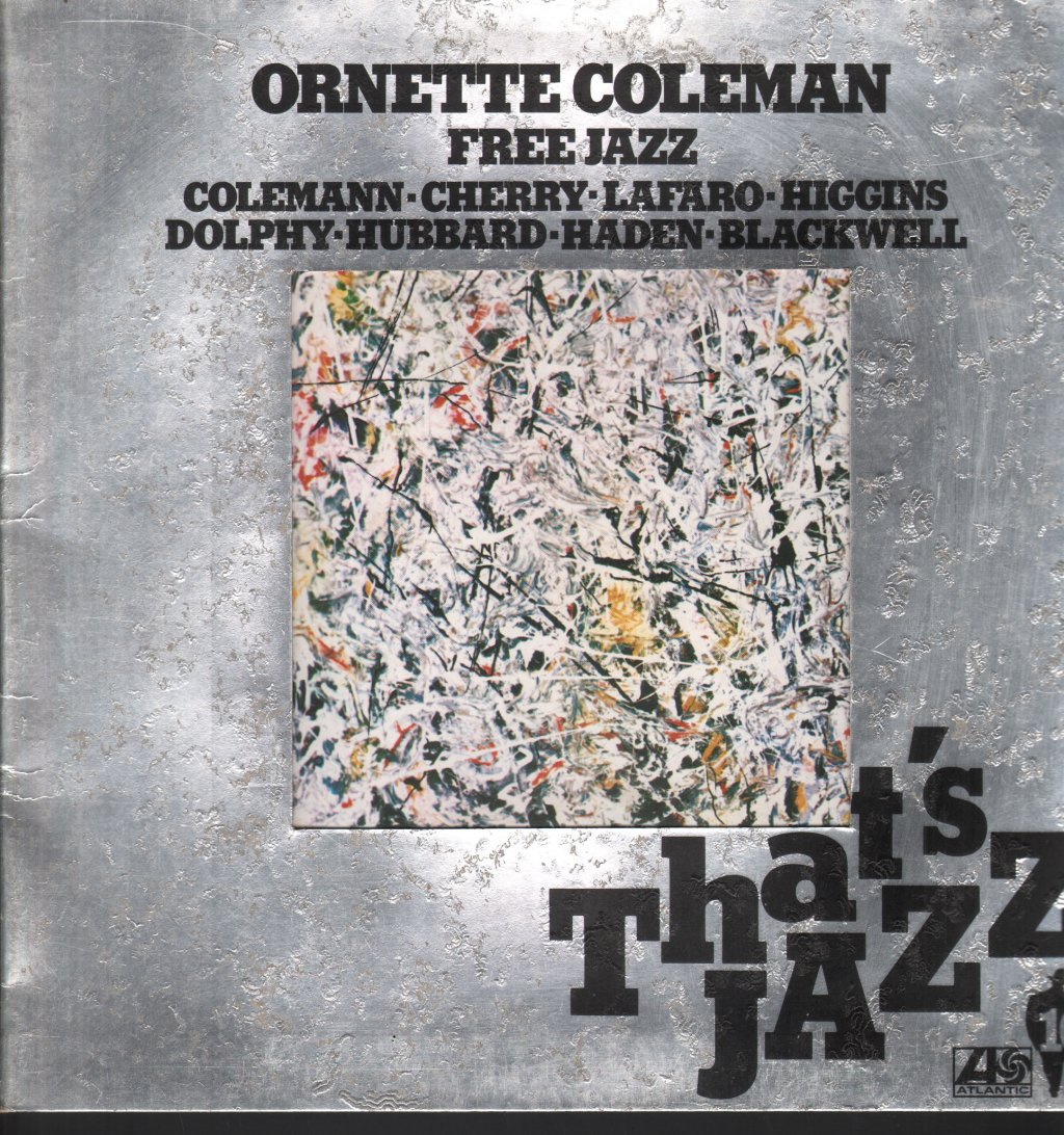 ORNETTE COLEMAN - Free Jazz - 33T