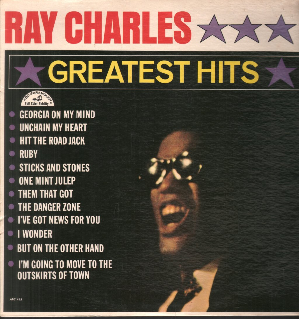 RAY CHARLES - Greatest Hits - 33T