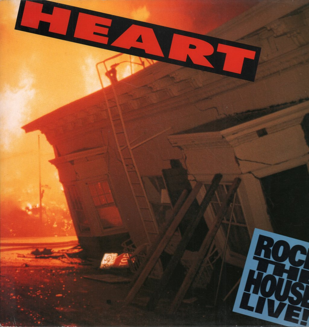 HEART - Rock the House Live - 33T