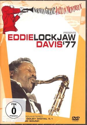 EDDIE LOCKJAW DAVIS - Norman Granz' Jazz In Montreux Presents Eddie Lockjaw Davis '77 - DVD